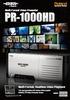 PR-1000HD Brochure