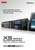 XS Series Brochure